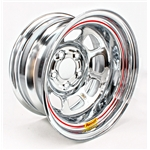 Bassett Chrome D-Hole Wissota Certified Wheels