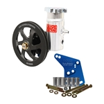 KRC SBF Cast Iron Power Steering Pump Kit V-Belt