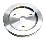 Aluminum Lower Pulley for S/B Chevy '55-'68 Short Pump