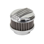 Stromberg Mohawk Air Cleaner Polished