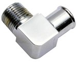 Chrome Heater Hose Fitting 90 Degree 3/4