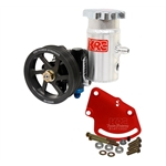 KRC Serpentine Cast Iron Steering Pump Kits - Head Mount