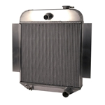 AFCO '42-'48 Chevy Aluminum Radiator Chevy Engine