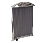 AFCO '33-'34 Ford Aluminum Radiator Ford Engine