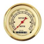 Vintage 140 MPH Speedometer