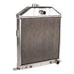 Aluminum 1942-1948 Ford Radiator - Chevy Engine