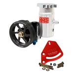 KRC Serpentine Cast Iron Steering Pump Kits - Block Mount