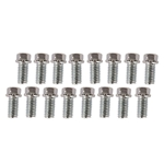 Hex Header Bolts (16 Pack) 3/8