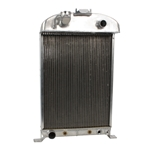 Aluminum 1933-1934 Ford Radiator - Ford Engine