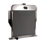AFCO '49-'53 Ford Aluminum Radiator Ford Engine
