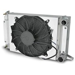 AFCO Scirocco-Style Fan & Shroud - Polished