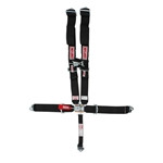 Simpson Clip-In Seat Belt With Sternum Protector Latch & Link Pull Down