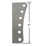 AFCO 6 Hole Steel Mounting Plate - 5/8