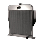 AFCO '49-'53 Ford Aluminum Radiator Chevy Engine