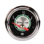 Stewart Warner Green Line Fuel Level Gauge 2-1/16
