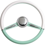 Two-Tone Wheel - Green & White