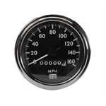 Stewart Warner Deluxe Mechanical Speedometer