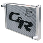 C&R Chevy Aluminum Radiator 19
