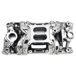 Edelbrock RPM Air-Gap SBC Intake Manifold Endurashine