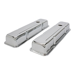 S/B Chevy Short Chrome Valve Covers