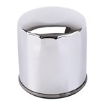 Short Chrome Oil Filter Cover 4-5/16