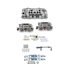 B/B Chevy Oval Port Edelbrock Dual Quad Set-up