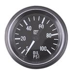 SW HD Mechanical Oil Pressure Gauge