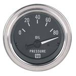 Electrical Oil Pressure Gauge 12 Volt