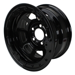 Basset Black D-Hole Wissota Certified Beadlock Wheels