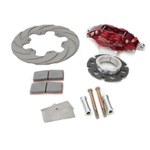 Inboard Titanium Brake Kit Non Vented Rotor HD - 4 Bolt Mount