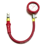 Safety Racing Tire Pressure Gauge w/ Hose