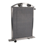 AFCO '37-'38 Ford '39 Ford Std. Aluminum Radiator Ford Engine