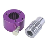Aluminum Quick Release Hub with Steel Splined Sleeve 3/4