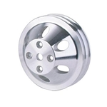 Aluminum Upper Pulley for S/B Chevy '69-'85 Long Pump