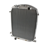 Aluminum 1930-1931 Ford Radiator - Ford Engine