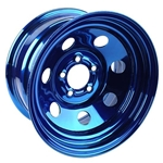 COOL MAN CHROMODIZED STEEL WHEELS 15 X 8
