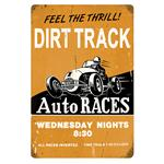 Vintage Metal Signs: Dirt Track
