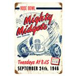 Vintage Metal Signs: Mighty Midget