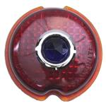 1939 Chevy Blue Dot Taillight Lens