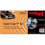 Quiet Tape - 2 Inch x 6 Inch Tape Strips - Package of Five