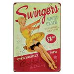 Swingers - Vintage Metal Sign
