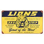 Lions Drag Strip - Metal Sign