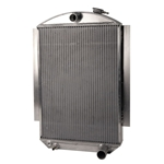 AFCO '37-'39 Chevy Aluminum Radiator Chevy Engine