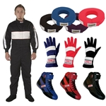 Speedway SFI 1 One-Piece Driving Suit Combo