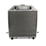 Aluminum Flathead V8 Radiator Ford '39 Deluxe '40 All