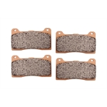 Wilwood 150-9753K High-Temperature Racing Brake Pads, Composite Metallic