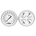 Classic Instruments 1947-53 Chevy Pickup White Gauge Set