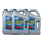 Lucas Oil 10679 SAE 10W30 Hot Rod Engine Oil, Three 5 Quart Jugs