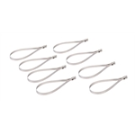 DEi 010201 8 Inch Stainless Steel Locking Ties, 8 Pack