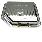 TH350 Transmission Pan-Chrome Steel